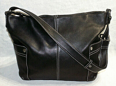 AU35 • Buy RRP$495 OROTON Soft Black Leather Designer Crossbody/Shoulder Bag/Handbag