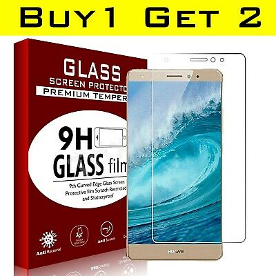 2 Pack Tempered Glass Screen Protector For Huawei  P10 P8 P9 Lite Plus • 1.99£