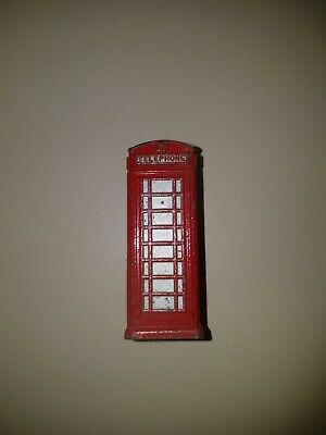 Dinky Telephone Box In Red. • 0.99£