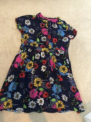 Girls Yumi Girl Dress Aged 9-10 Floral • 4.50£