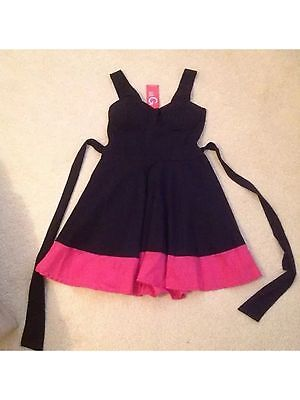 Black Dress With Pink Trim From Wal G, New With Tags • 16£