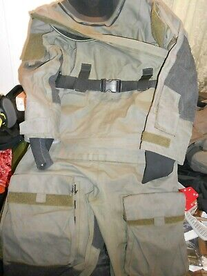 Typhoon Gore-tex Immersion Suit Olive Green Used Condition Lge/med Uksf Rm Sbs • 95£