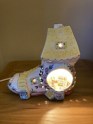 Reuge Musical Night Light Mouse Family Boot Collectable • 10£