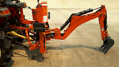 AU4950 • Buy Backhoe For Small Tractor, PTO Back Hoe For Tractor 3-pt Linkage With 9  Bucket