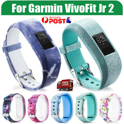 AU4.25 • Buy For GARMIN VIVOFIT JR JR 2 Band Replacement Silicone Wrist Strap Junior Fitness