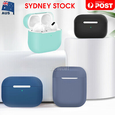 AU5.95 • Buy Shockproof Case Silicone Cover Gel Skin Holder For Apple Airpods Airpod 1 2 Pro