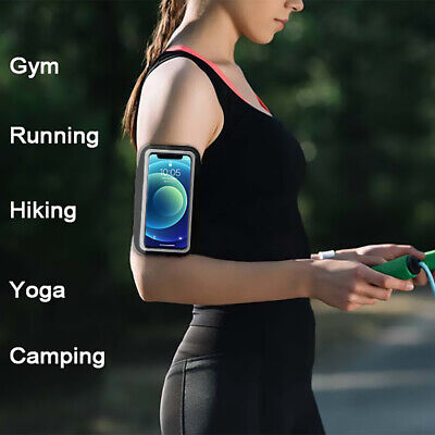 AU25.99 • Buy Armband Gym Running Band Sport For IPhone 12Pro 11 Pro X XR XS Max 7 8 6 Plus AU