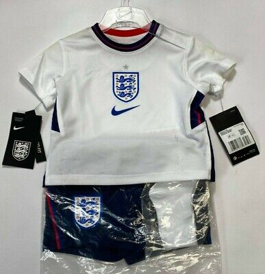 England Official Nike Kids Home Mini Kit (3-6 Months) • 19.99£