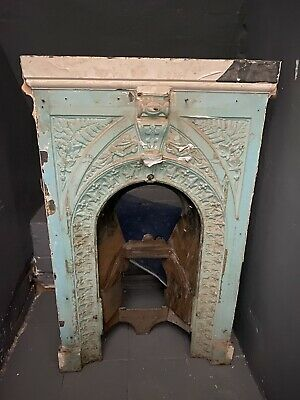 Old Cast Iron Fireplace Victorian Style ? Edwardian Style ? Fire Place • 1.20£