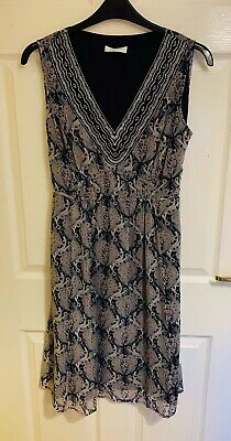 Blue Floral Debenhams Rocha John Rocha Dress Size 14 (9999) • 7.99£