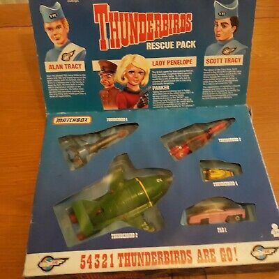 Matchbox Thunderbirds Rescue Pack • 17.10£
