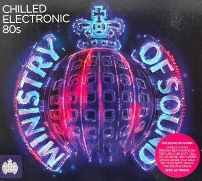 £7.89 • Buy Ministry Of Sound - Chilled Electronic 80s (Various Artists)[New & Sealed] 3 CDs