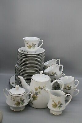 Large, Elegant And Hard-wearing Noritake RC Deauville 764 Tea Set • 20£