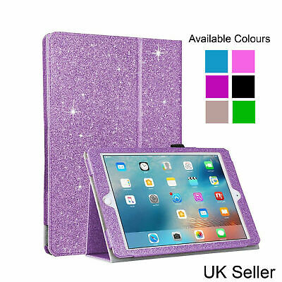 £6.99 • Buy Smart Glitter Magnetic Leather Bling Case Wallet Stand Cover For IPad 2 / 3 / 4