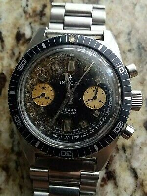 $ CDN1270.43 • Buy Invicta Chronograph Valjoux 7733 Vintage
