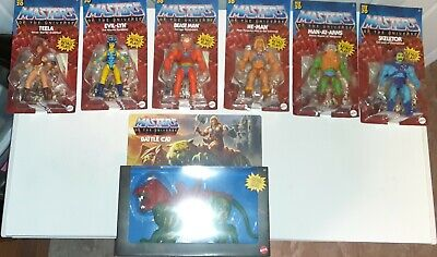$100 • Buy Masters Of The Universe 2020 7 Pc. Lot