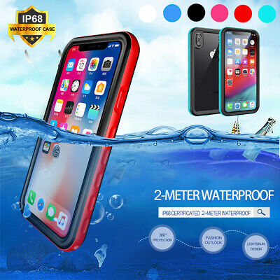 AU9.48 • Buy IPhone 12 11 XS Pro Max XR 8 7 6s 6 SE 2 Waterproof Shockproof Protective Case