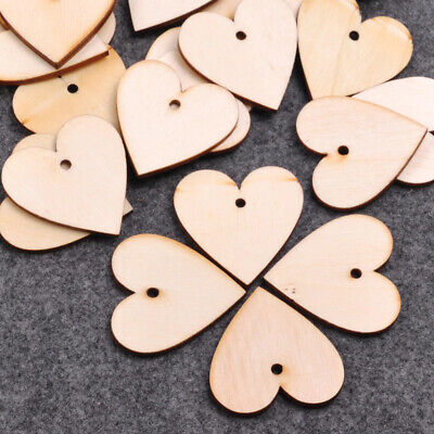 £3.20 • Buy Wooden Or Mdf Hearts Stars And Luggage Gift Tags, Craft Blanks Diy Shapes Cutout