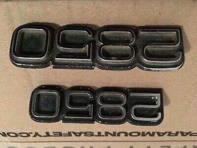 AU75 • Buy Holden Torana 2850 Badges 2 Off Lh Lx Uc Sunbird Etc