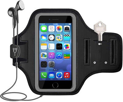 AU20.89 • Buy NEW IPhone X/XS/11Pro Armband Gym Run/Jog/Exercise Workout Arm Band Case (Black)