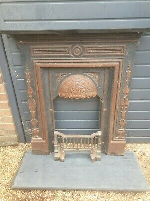 Victorian Cast Iron Fireplace And Slate Hearth • 20£