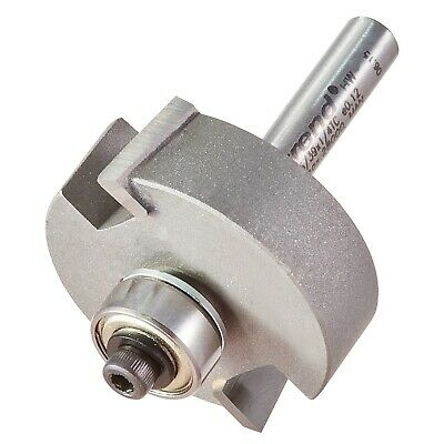Trend 46/39X1/4TC TCT Bearing Guided Rebate Set 46/39 Router Cutter Set 1/4 35mm • 48.55£