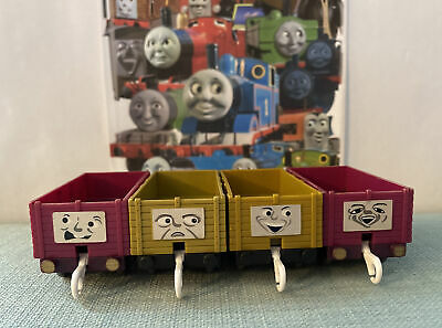 Tomy Trackmaster Thomas The Tank Engine Coloured Troublesome Trucks • 8£