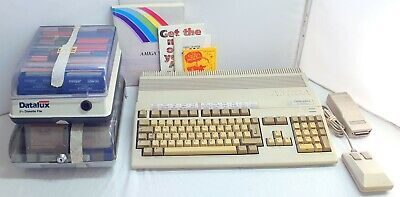 Amiga A-500 + Plus With Games, Software Mouse And 520 AV Modulator - Free Post • 199.95£