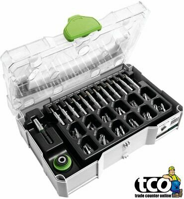 Festool Centrotec 72 Piece Accessories Set In Mini Systainer | 203817 • 101£