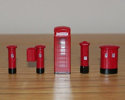 £7.95 • Buy Bachmann 00 Gauge 1:76 Scale Telephone Box / Royal Mail Post Boxes, Suit Hornby