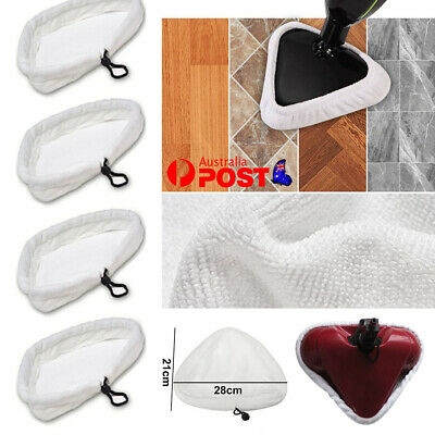 AU14.26 • Buy For H20 H2O Steam Mop Pads Washable Cleaning Pads Microfiber Cloth Floor White