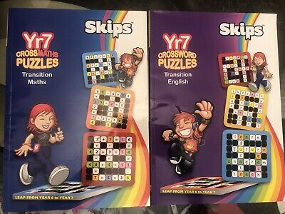 Year 7 Puzzle Books For Maths And English • 8£