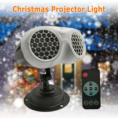 Projector Light Snowfall Remote Control For Outdoor Party Christmas Decoration • 24.32£
