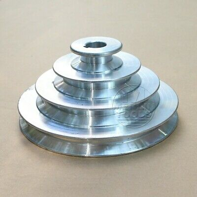 AU34.50 • Buy OD 130mm, 4 Step Pulley 16mm Bore For 1/2  = 12.7mm  Belt Width - Cast Aluminum