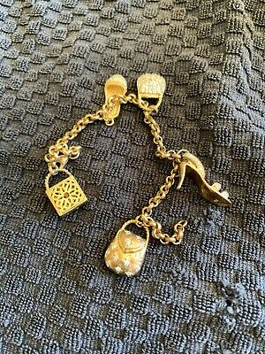 $ CDN33.65 • Buy 🔥 Sterling Silver Scrap Lot Charm Bracelet And Charms 🔥