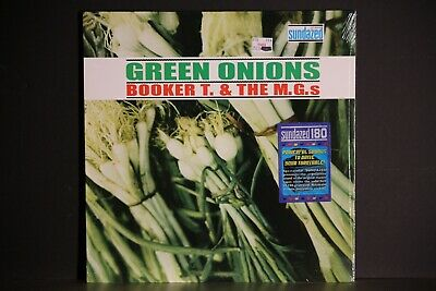 BOOKER T & THE MGs LP GREEN ONIONS REMASTER 2002 STILL SEALED  MINT SUNDAZED • 28.28£