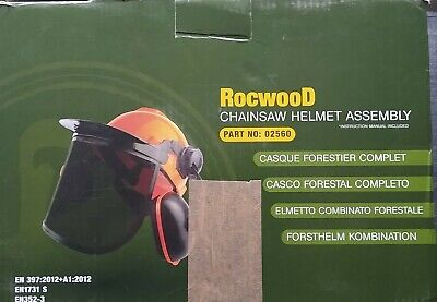 £15 • Buy Brand New Chainsaw Helmet Assembly Kit From Rocwood