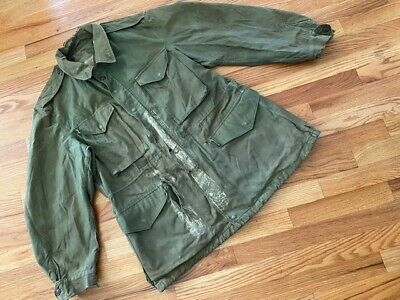 $49 • Buy Us  Korean War M51 Field Jacket Coat Mild&cold Weather Army Air Corps.relic