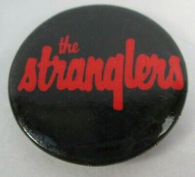 The Stranglers Vintage Early 1980s US 32mm Badge Pin Button Punk  • 9.99£