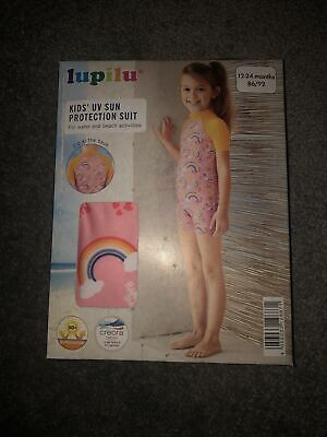 Lupilu UV Sun Protection Suit  12 - 24 Months Back Zip New Boxed • 5£