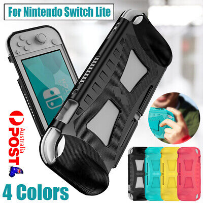 AU16.79 • Buy TPU Shockproof Protection With Grip Case Cover For Nintendo Switch Lite / Mini