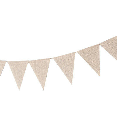 Burlap Banner DIY Party Decoration For A Wedding, Birthday, And Baby Shower • 4.84£