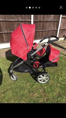 Britax B-Dual Double Pushchair (including Second Seat) • 200£