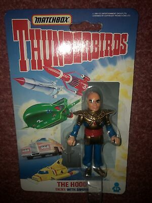 Matchbox Thunderbirds The Hood 3  Toy Action Figure Gerry Anderson • 8£