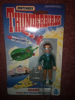 Matchbox Thunderbirds Brains 3  Toy Action Figure Gerry Anderson • 8£