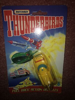Matchbox Thunderbirds 4 Vehicle Pull Back 3  Toy Action Figure Gerry Anderson • 8£