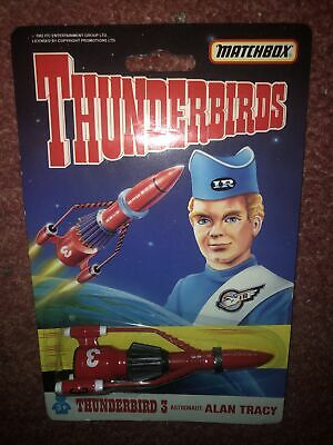 Matchbox Thunderbirds Diecast Alan 3 Die Cast Toy Action Figure Gerry Anderson • 8£