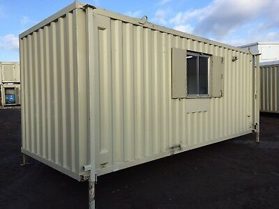 £8250 • Buy Site Welfare Unit Office Cabin Drying Room Canteen Toilet Generator 20ft