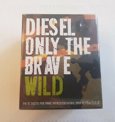 £75.99 • Buy Diesel Only The Brave Wild 75ml Edt - New & Sealed