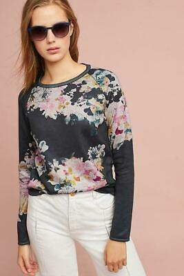 $ CDN47.06 • Buy ANTHROPOLOGIE MAEVE RAMYA FLORAL SWEATER Women's Large, Navy/Pink/Yellow